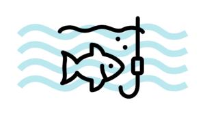 釣りのイラスト
